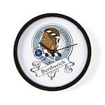 Borthwick Clan Badge Wall Clock