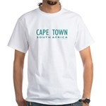 Cape Town SA - White T-Shirt