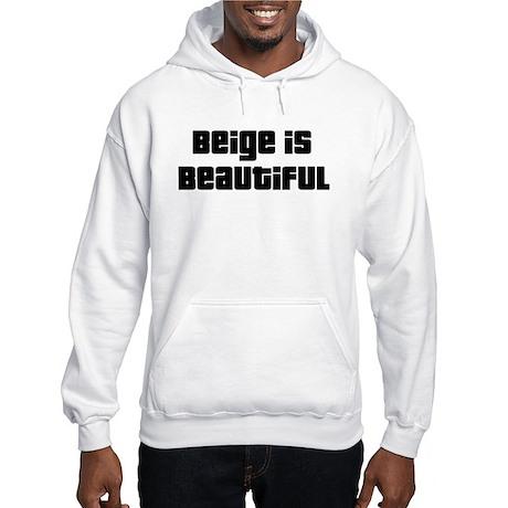 Beige Brothers Hooded Sweatshirt