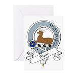 Blair Clan Badge Greeting Cards (Pk of 10)