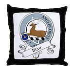 Blair Clan Badge Throw Pillow