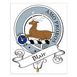 Blair Clan Badge Small Poster