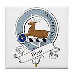 Blair Clan Badge Tile Coaster