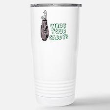 Cute Golf joke Travel Mug