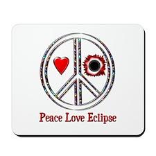 Peace Love Eclipse Mousepad