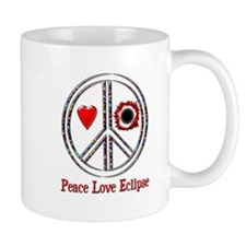 Peace Love Eclipse Mug
