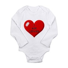 I am loved Long Sleeve Infant Bodysuit