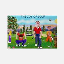 Joy of Golf 1 Rectangle Magnet