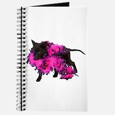 Pink Boa Puppy Journal