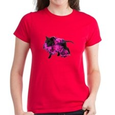 Pink Boa Puppy Tee
