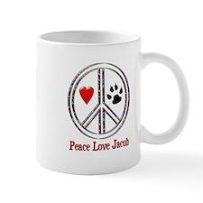 Peace Love Jacob Mug
