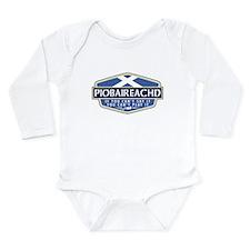 Piobreached Long Sleeve Infant Bodysuit