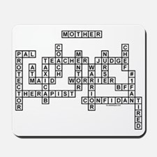 MOTHER SCRABBLE-STYLE Mousepad