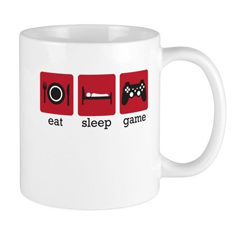 Eat Sleep Game Mug