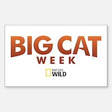Big Cat Week Decal