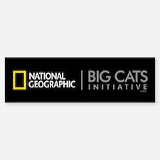 Big Cats Initiative Bumper Bumper Sticker