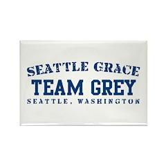 Team Grey - Seattle Grace Rectangle Magnet