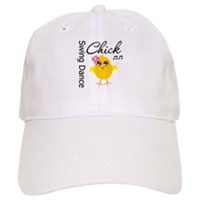 Swing Dance Chick Baseball Cap