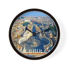 Rome Vatican Wall Clock