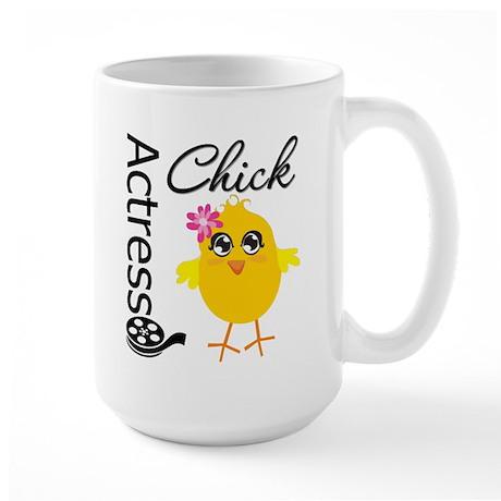 Actress Chick Large Mug