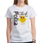 Polka Chick Women's T-Shirt