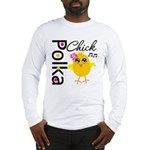 Polka Chick Long Sleeve T-Shirt