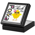 Polka Chick Keepsake Box