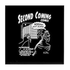 Second Coming Comics Tile Coaster