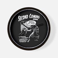 Second Coming Comics Wall Clock