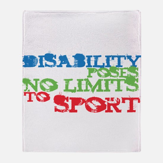 Special Olympics Throw Blanket