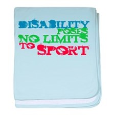 Special Olympics baby blanket
