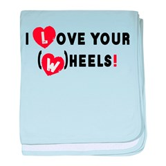 I love your (w)heels! baby blanket