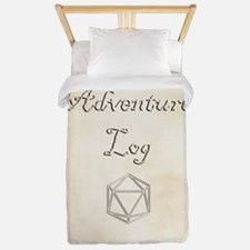 Adventure Log Twin Duvet Cover