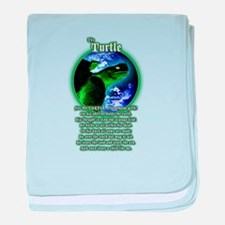 """""""The Turtle"""" baby blanket"""