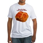 The Big Bun in the Oven Fitted T-Shirt