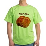 The Big Bun in the Oven Green T-Shirt