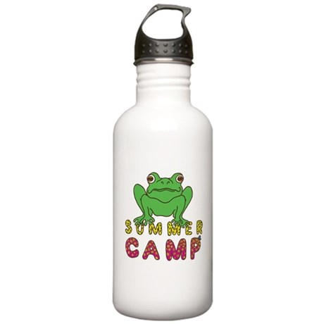 SUMMER CAMP FROG LOOK Stainless Water Bottle 1.0L