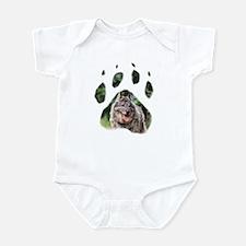 Norwegian Elkhound paw Infant Bodysuit