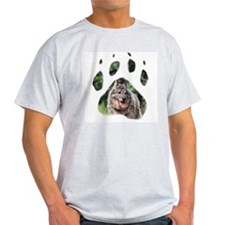 Norwegian Elkhound paw T-Shirt