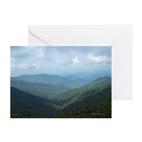 Blue Ridge Mountians Greeting Cards (Pk of 10)