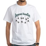 Desperate Houseflies White T-Shirt