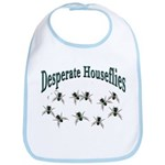 Desperate Houseflies Bib