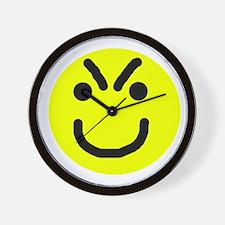 Hangry Face Wall Clock