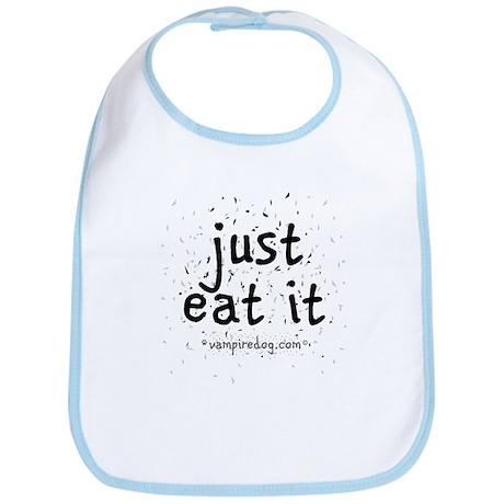 just eat it by vampiredog.com Bib
