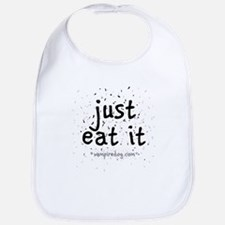 just eat it by vampiredog.com Bib