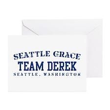 Team Derek - Seattle Grace Greeting Cards (Pk of 1