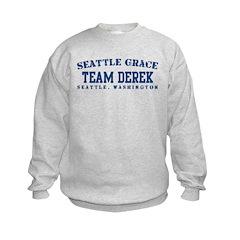 Team Derek - Seattle Grace Kids Sweatshirt