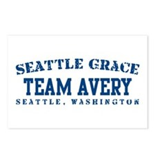 Team Avery - Seattle Grace Postcards (Package of 8