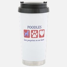 Standard Poodle Lover Stainless Steel Travel Mug
