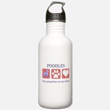 Standard Poodle Lover Water Bottle